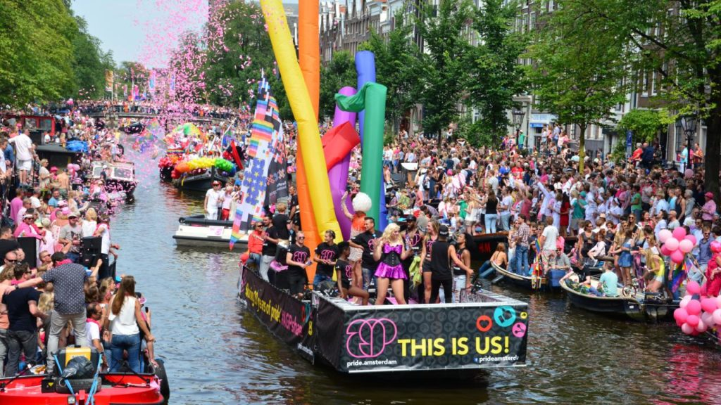 کانالپراید آمستردام در سال ۲۰۱۶