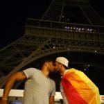 پرچم افتخار ایران در سفر - پاریس، فرانسه