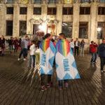 پرچم افتخار ایران در سفر - بروکسل، بلژیک