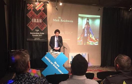 مارک ریخوین مسئول سیاستگذاری امور اقلیتهای جنسی در وزارت امور خارجه هلند